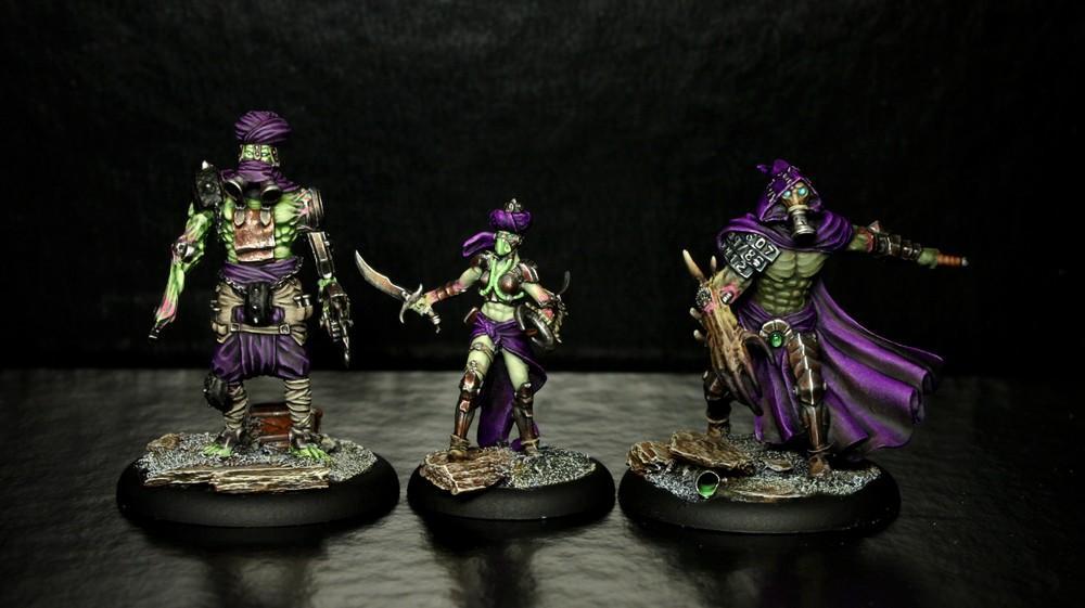 Askari, Ed3n, Eden, Green, Minus, Mutant, Purple, Skirmish