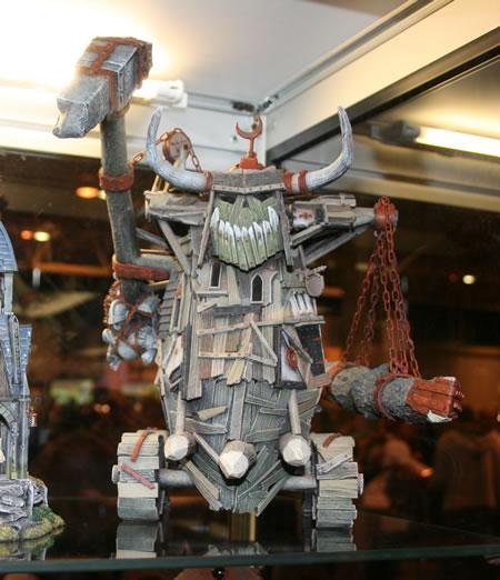 Gargant, Orks, Titan, Warhammer Fantasy, Wood