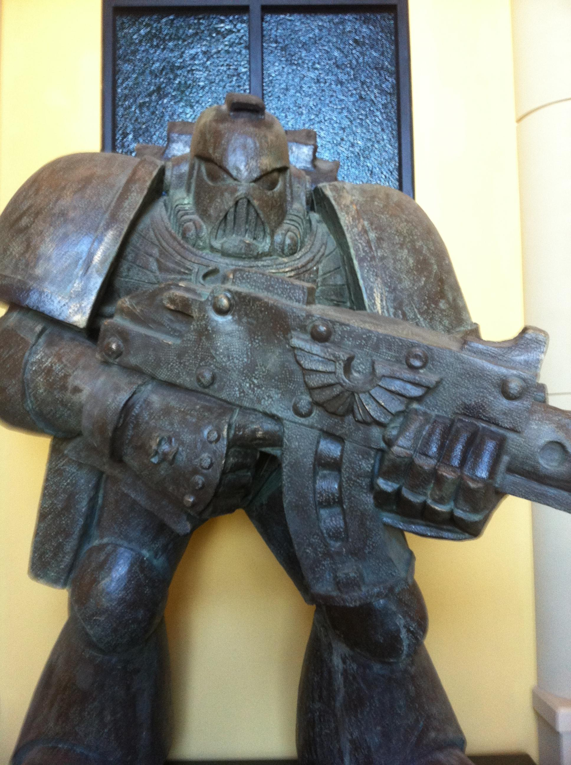 Game Workshop, Games Workshop, Head Quarters, Headquarters, Warhammer 40,000