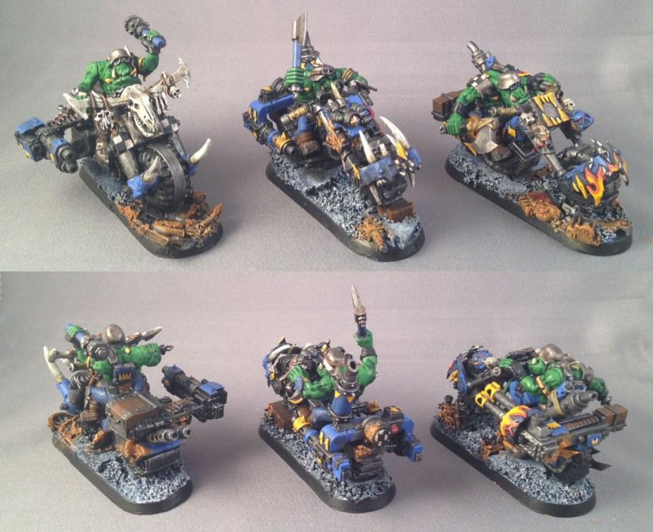Bike, Orks, Warbike, Warhammer 40,000