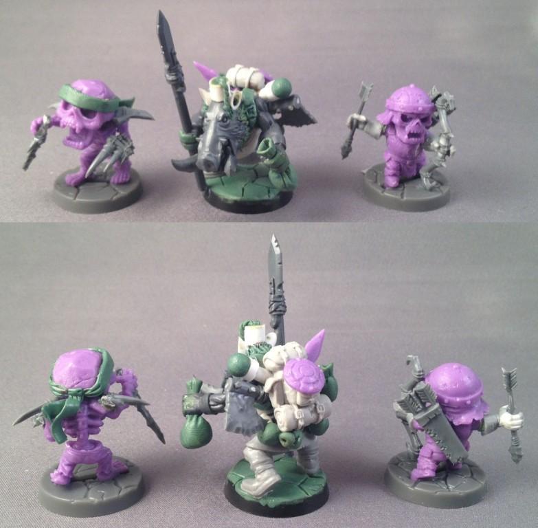 Chibis, Custom, Merchant, Undead