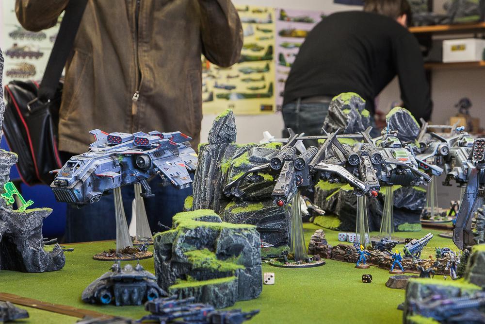 Apocalypse: Storming Heaven - eldars vs Imperium, 12k+ per side