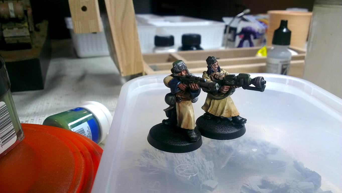 WIP Valhallan Ice Warriors