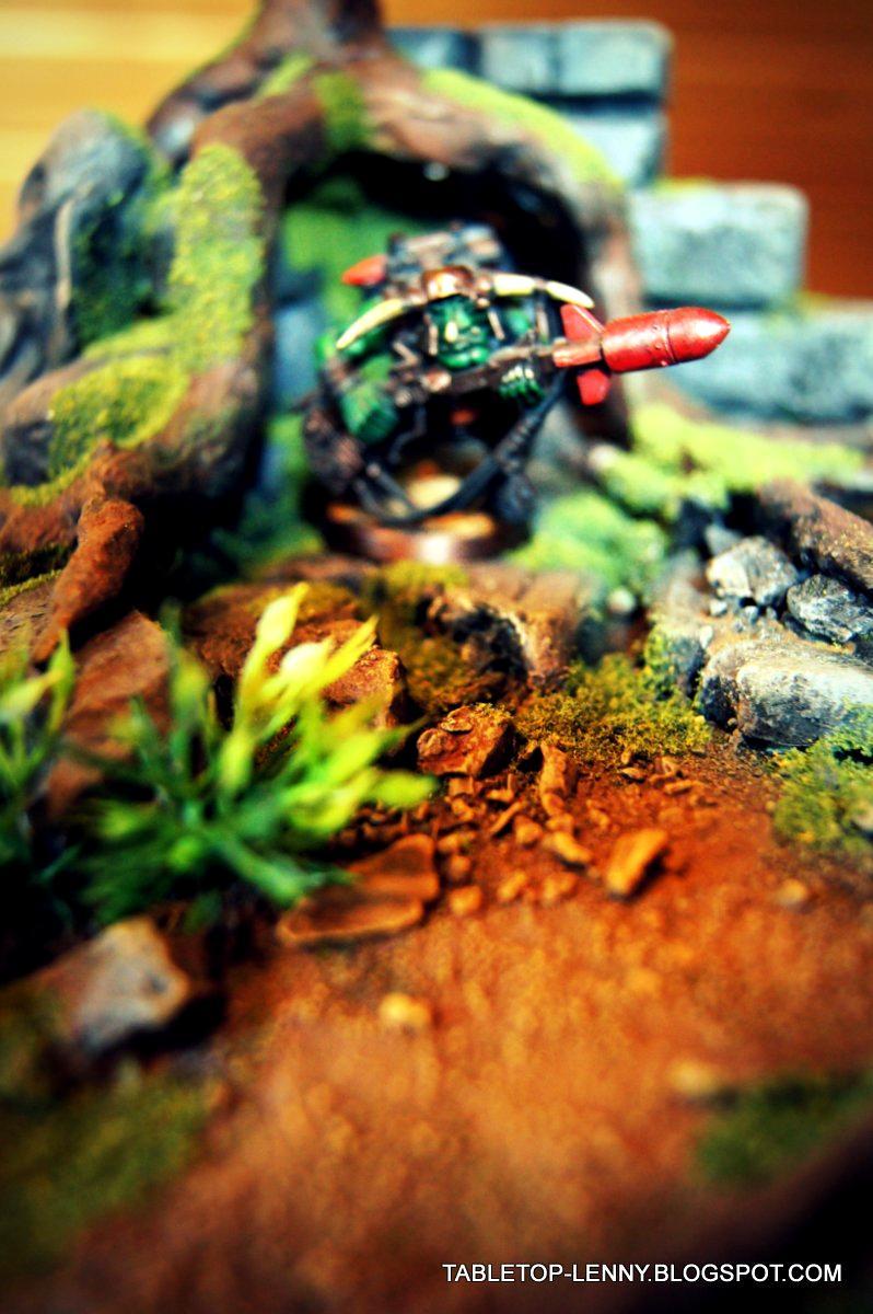 Terrain, Rocket in the jungle!