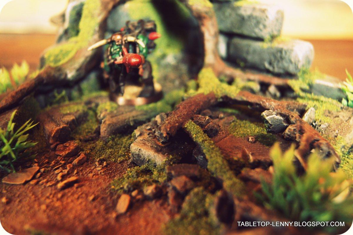 Terrain, Orc is posing in the jungle