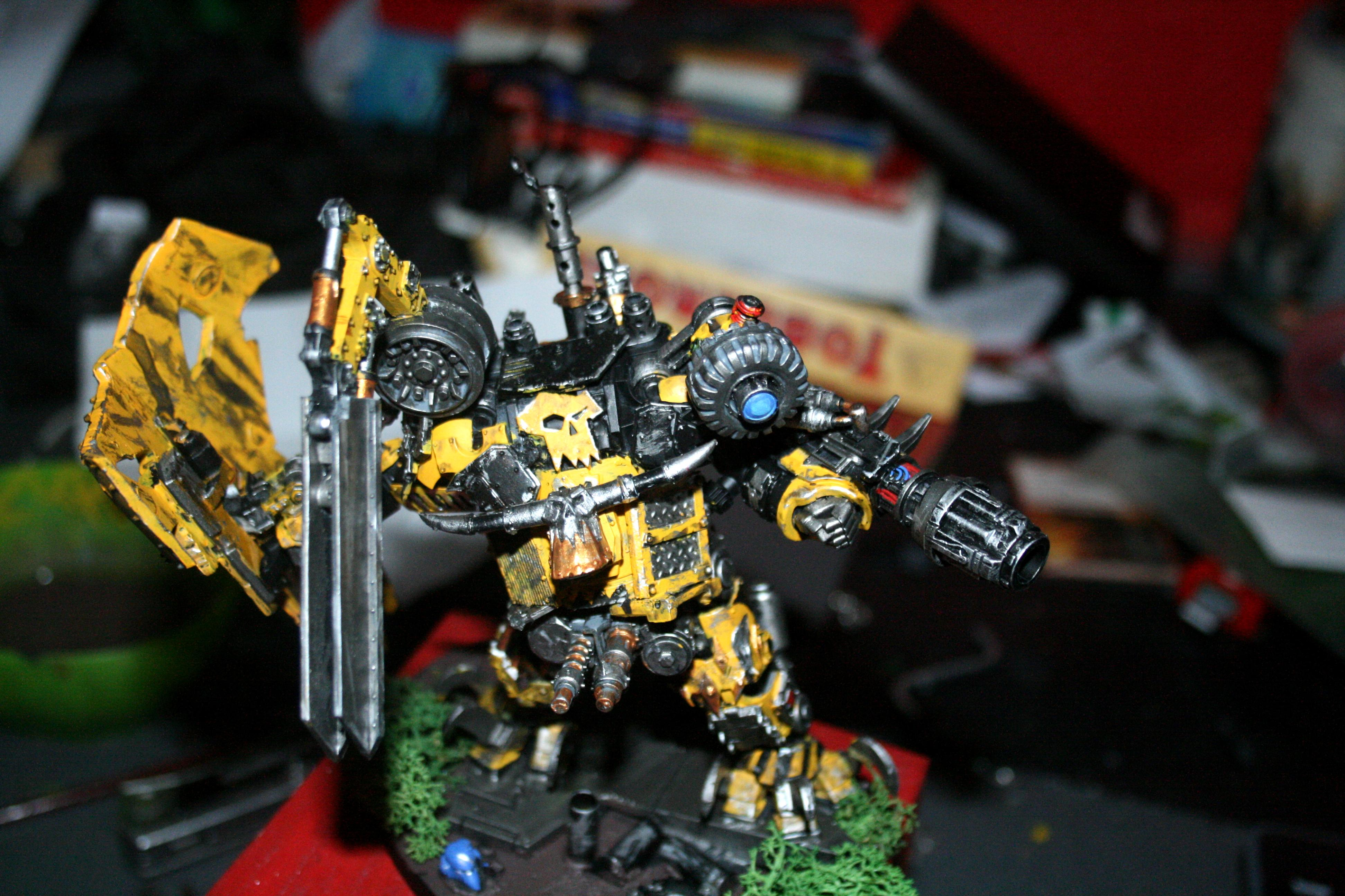 Armored, Death, Deff, Deff Dread, Dred, Looted, Nemesis, Orks, Warhammer 40,000