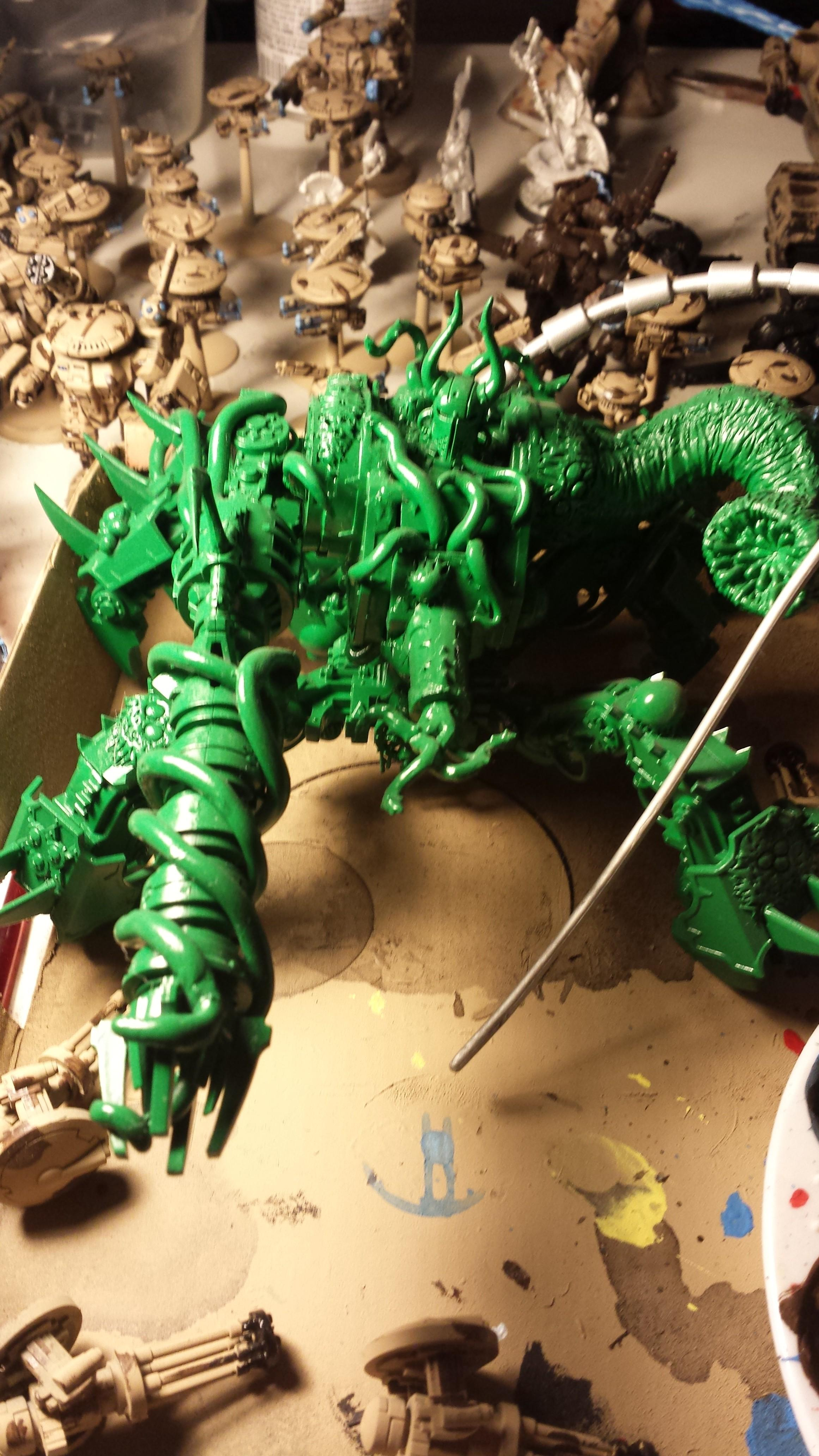 Chaos, Chaos Space Marines, Conversion, Cultist, Custom, Defiler, Evil, Gods Of Chaos, Green, Greenstuff, Nurgle, Obliterators, Plague, Space Marines, Stuff, Termi, Terminator Armor, Typhus, Zombie