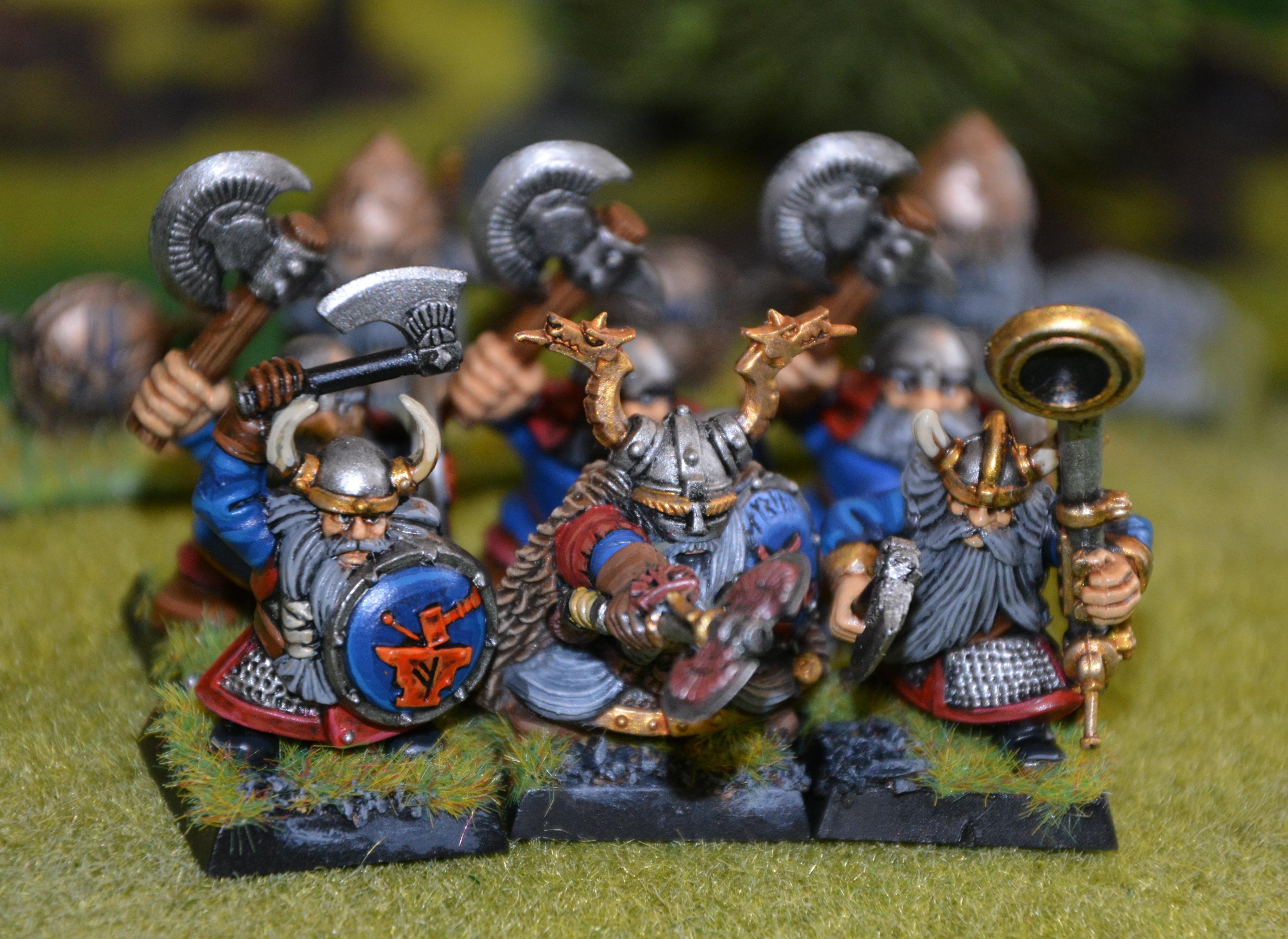 Discontinued Dwarf Warriors