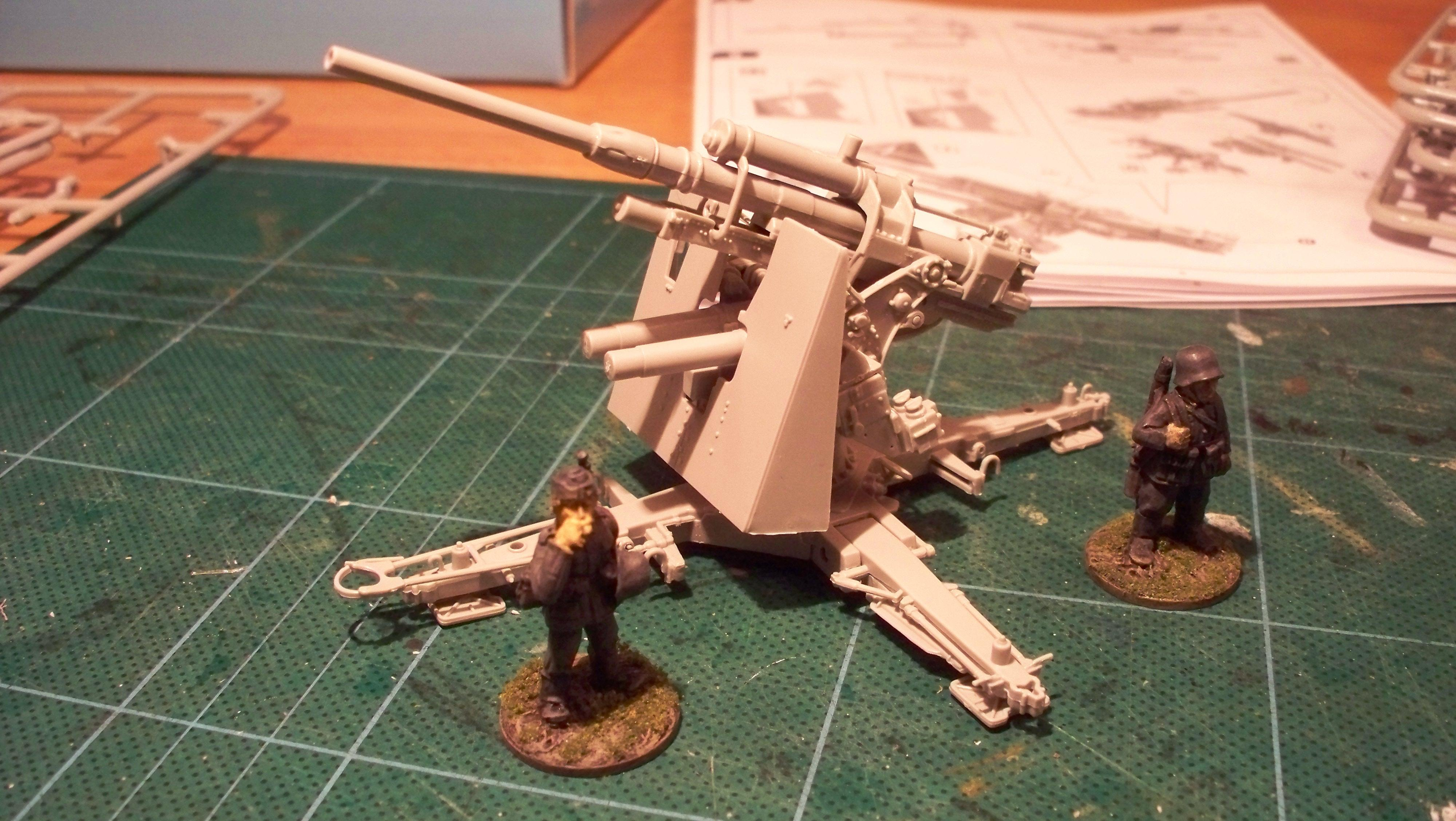 Artillery, Germans, Italeri
