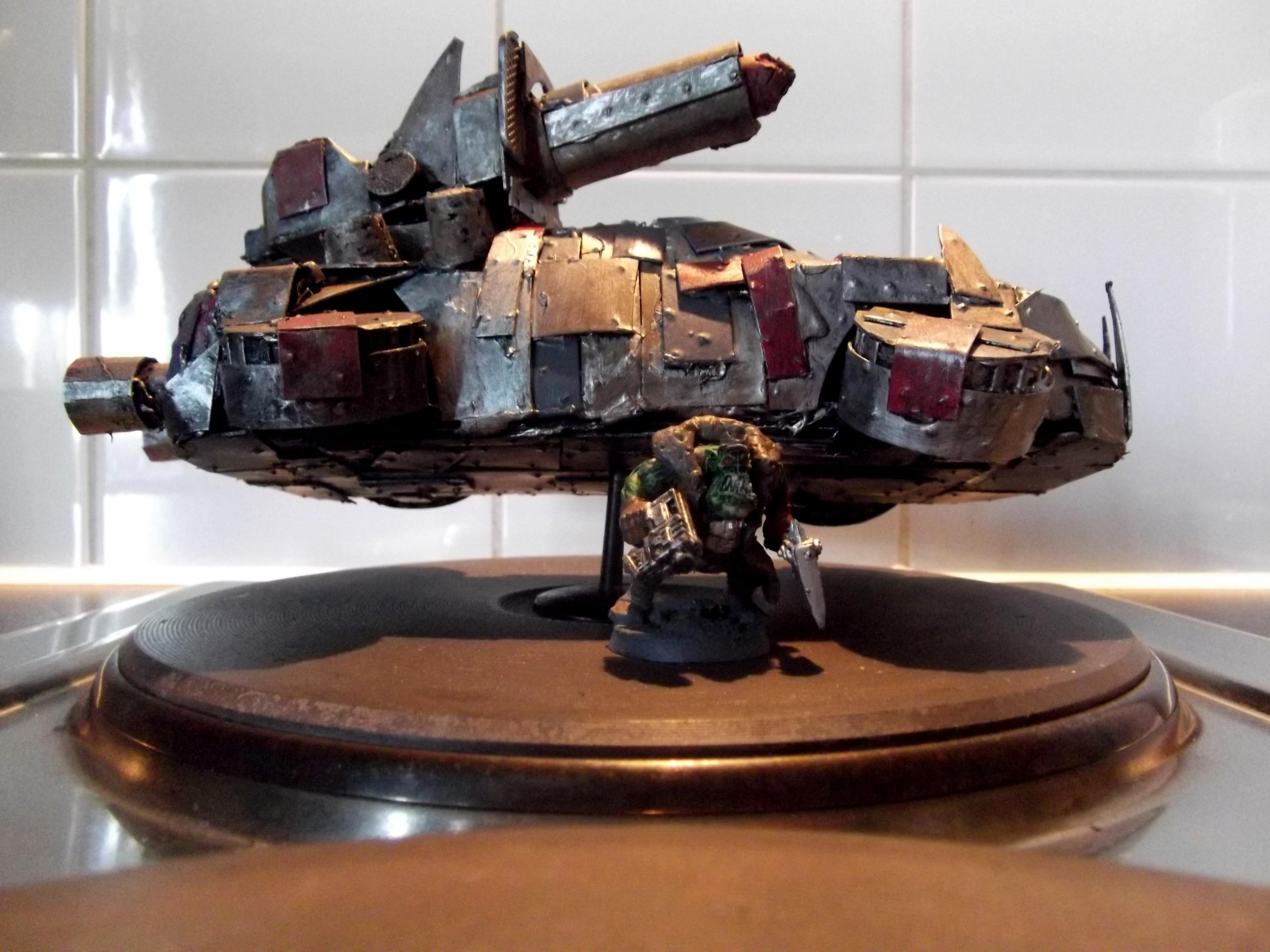 Boomgun, Conversion, Hover, Looted Wagon, Orks, Scratch Build, Warhammer 40,000