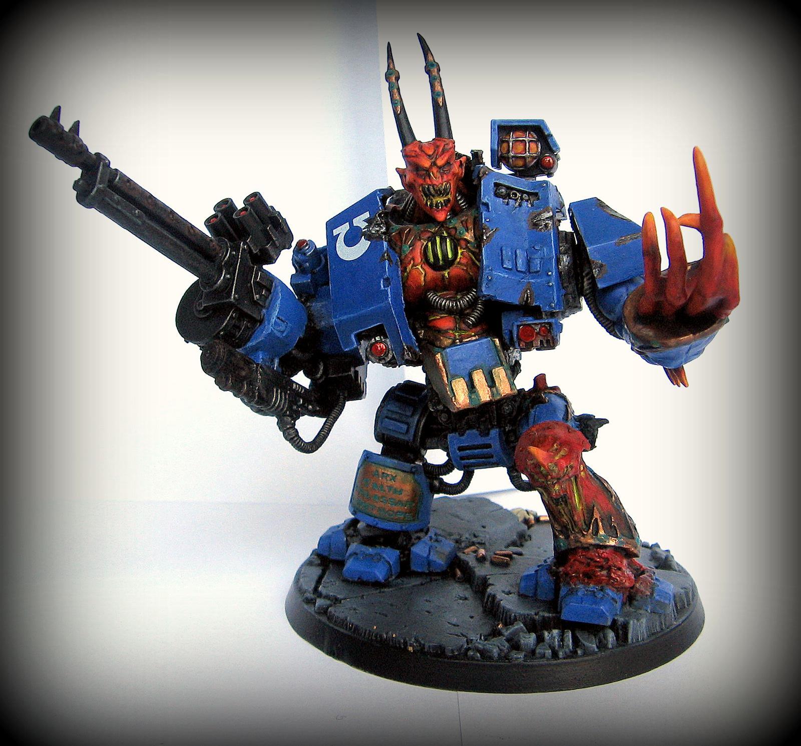 Chaos, Daemon Prince, Daemons, Dreadnought, M'kar