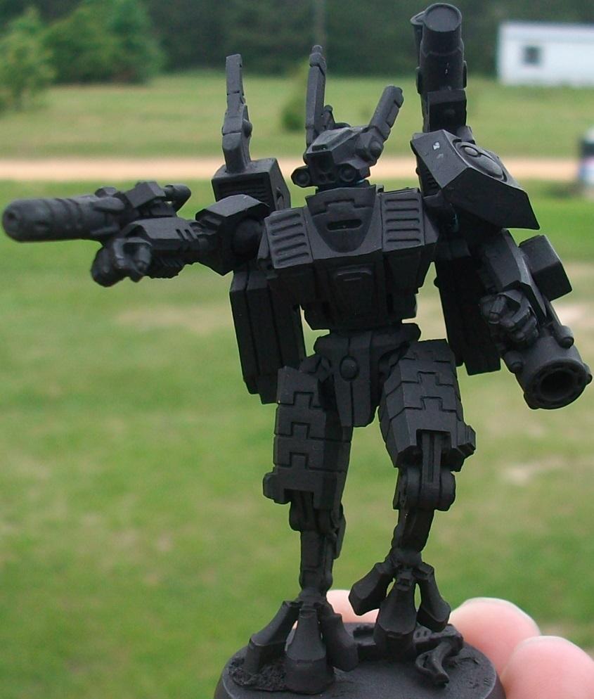 Afp, Battlesuit, Commander, Enforcer, Onager Gauntlet, Plasma Rifle, Shas'o, Tau Empire, Xv8-05
