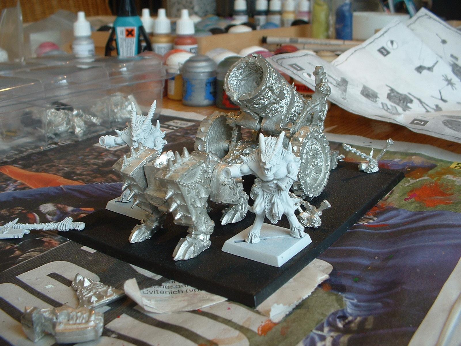 Crew, Daemons, Hellcannon, Khorne, Skullcannon, Vehicle