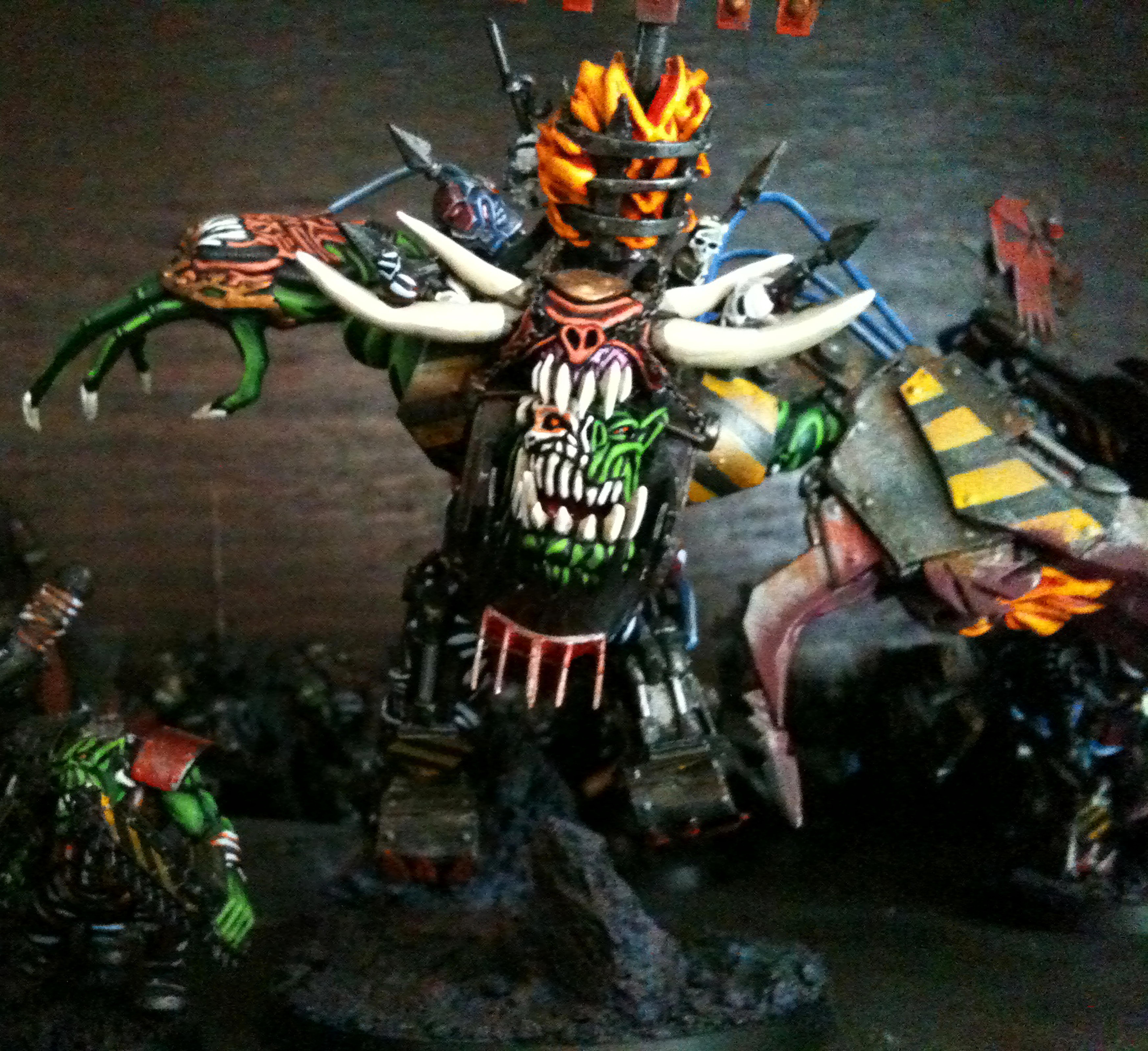 Custom, Mega Armor, Orks, Scratch Build, Warboss