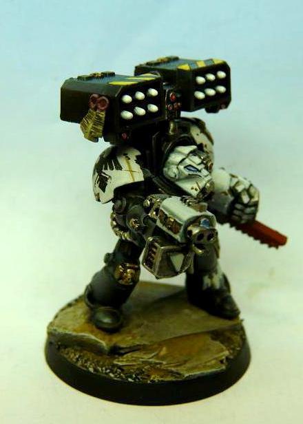 Raven Guard, cyclon launcher