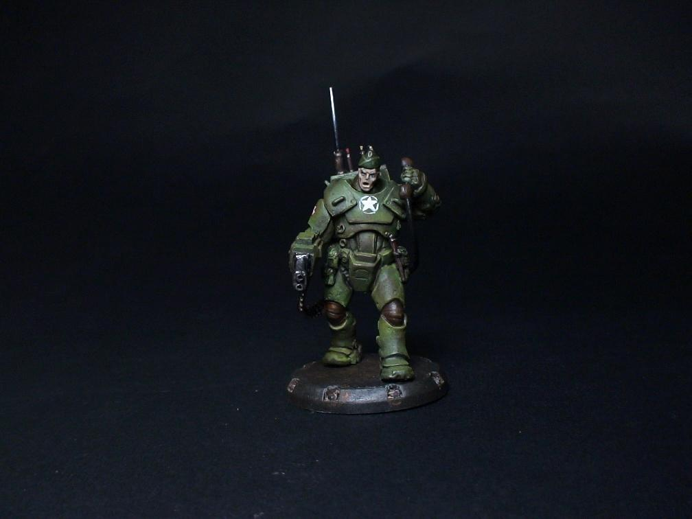 Commo, Conversion, Space, Space Marines