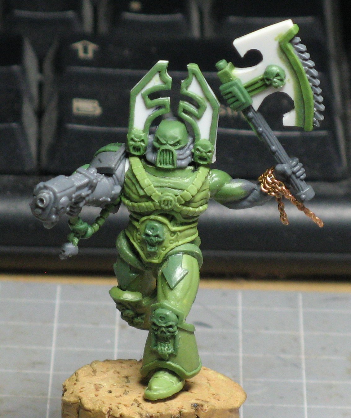 Chaos Space Marines, Conversion, Kharn, Scratch Build