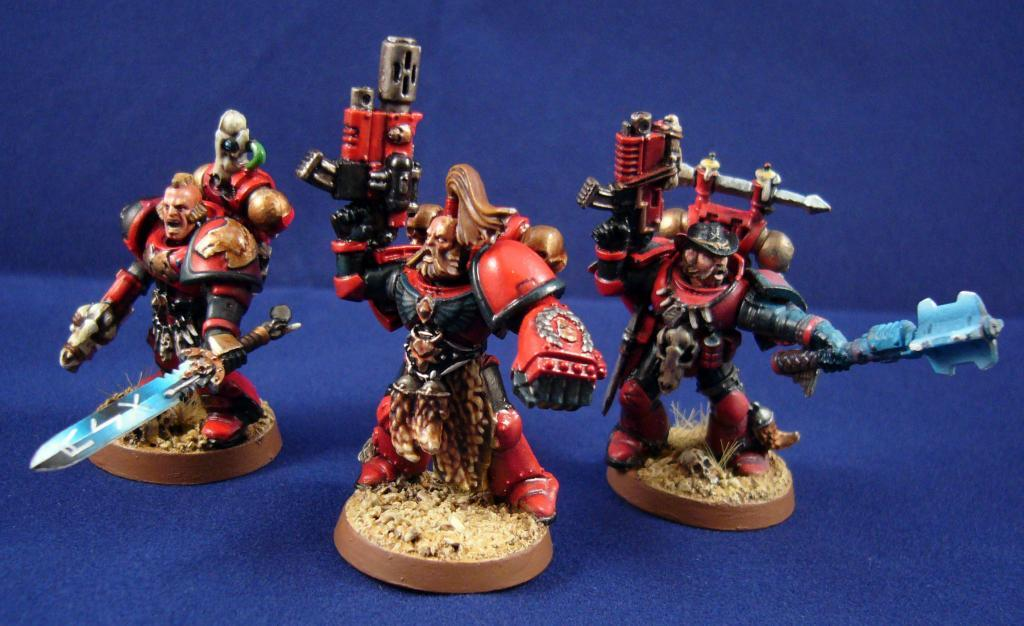 Alternative Space Wolves, Red Corsairs, Wolf Guard