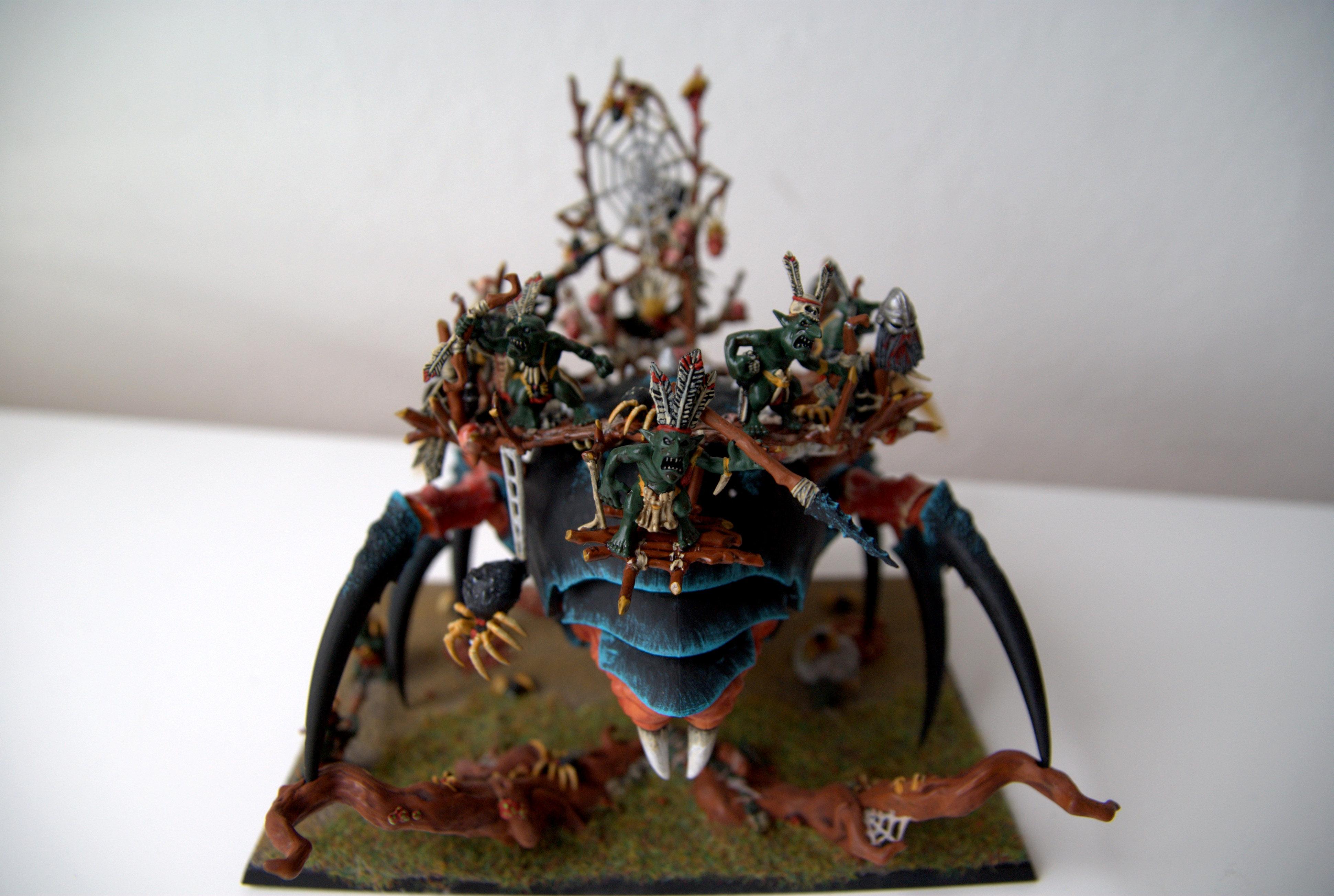 Bug, Cavern, Goblin Chief, Warhammer Fantasy