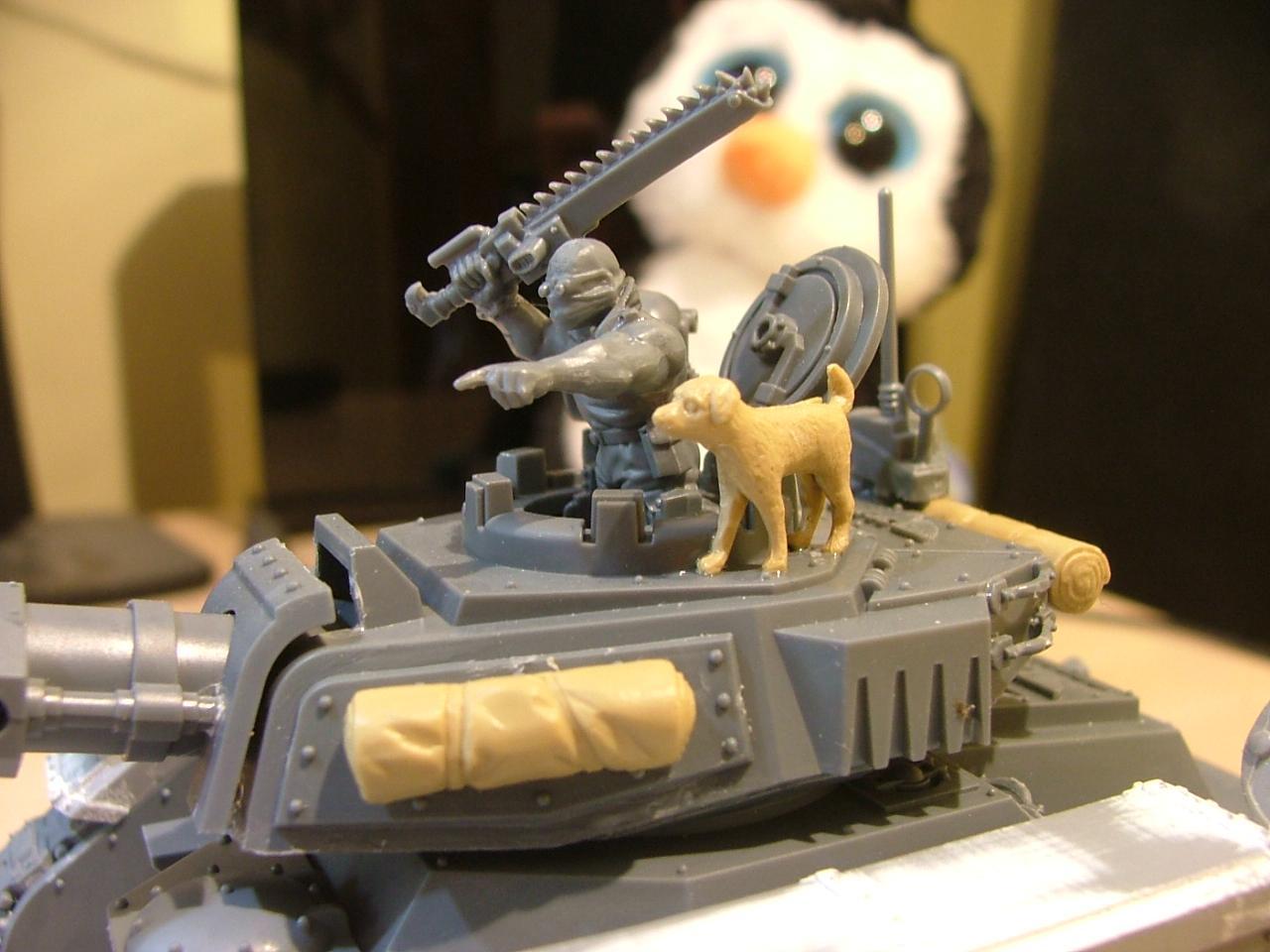Dog, Eradicator, Leman Russ, Tamiya