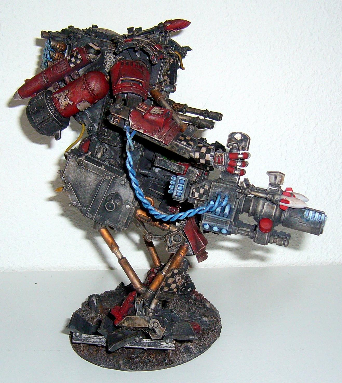 Conversion, Orks, Mega Armored Rokkit Boss