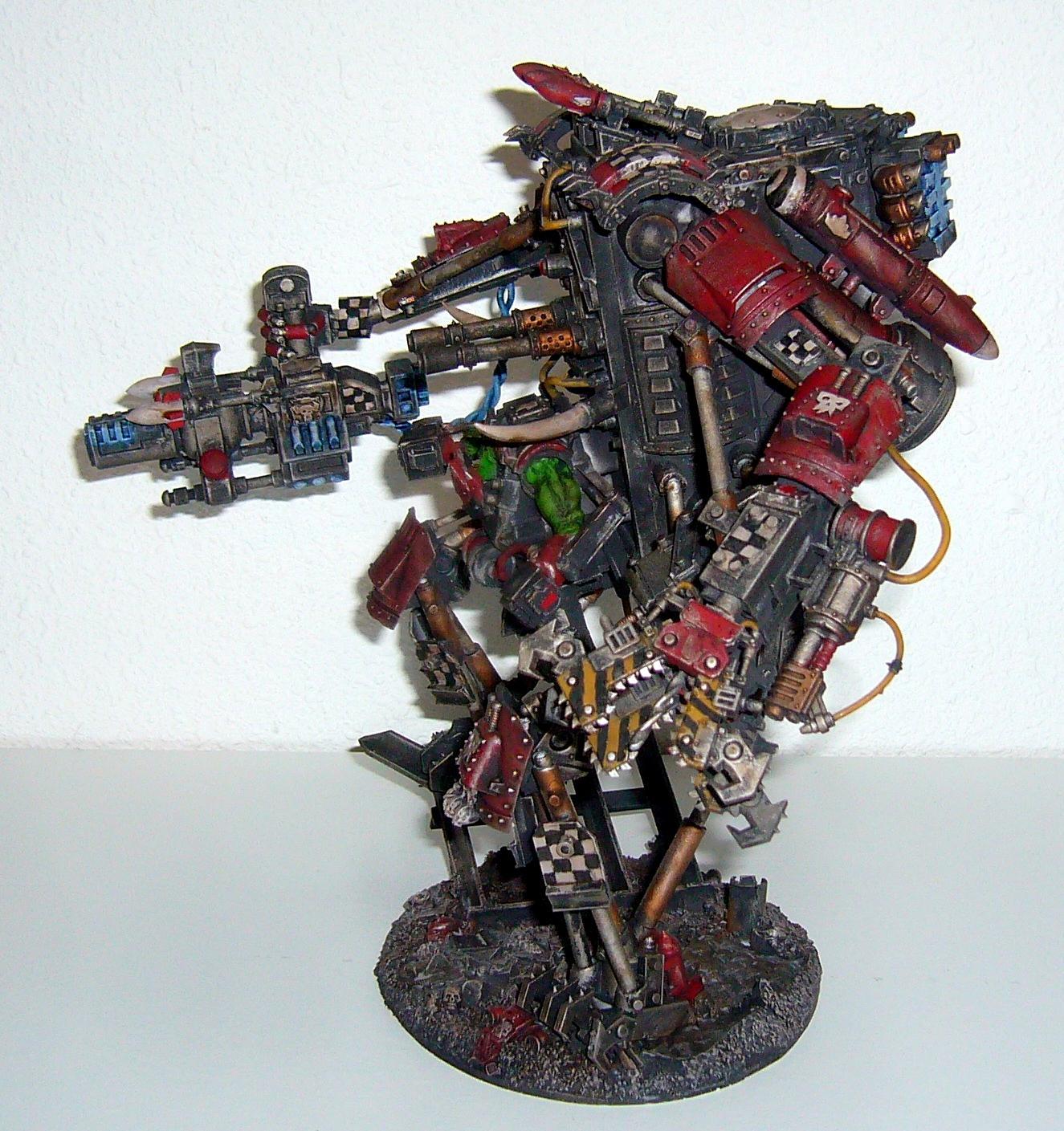 Armored, Boss, Dafaq, Mega, Orks, Rokkit