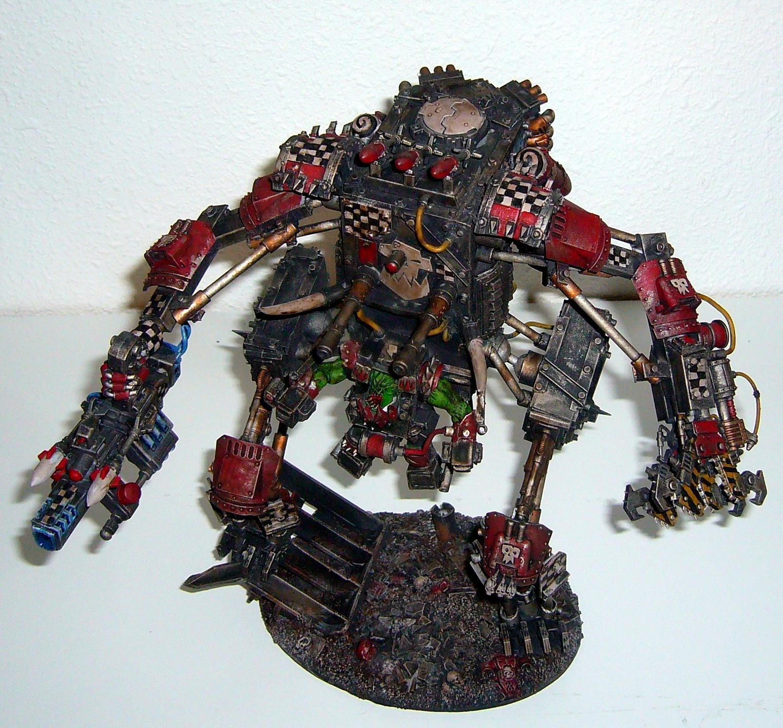 Mega Armored Rokkit Boss