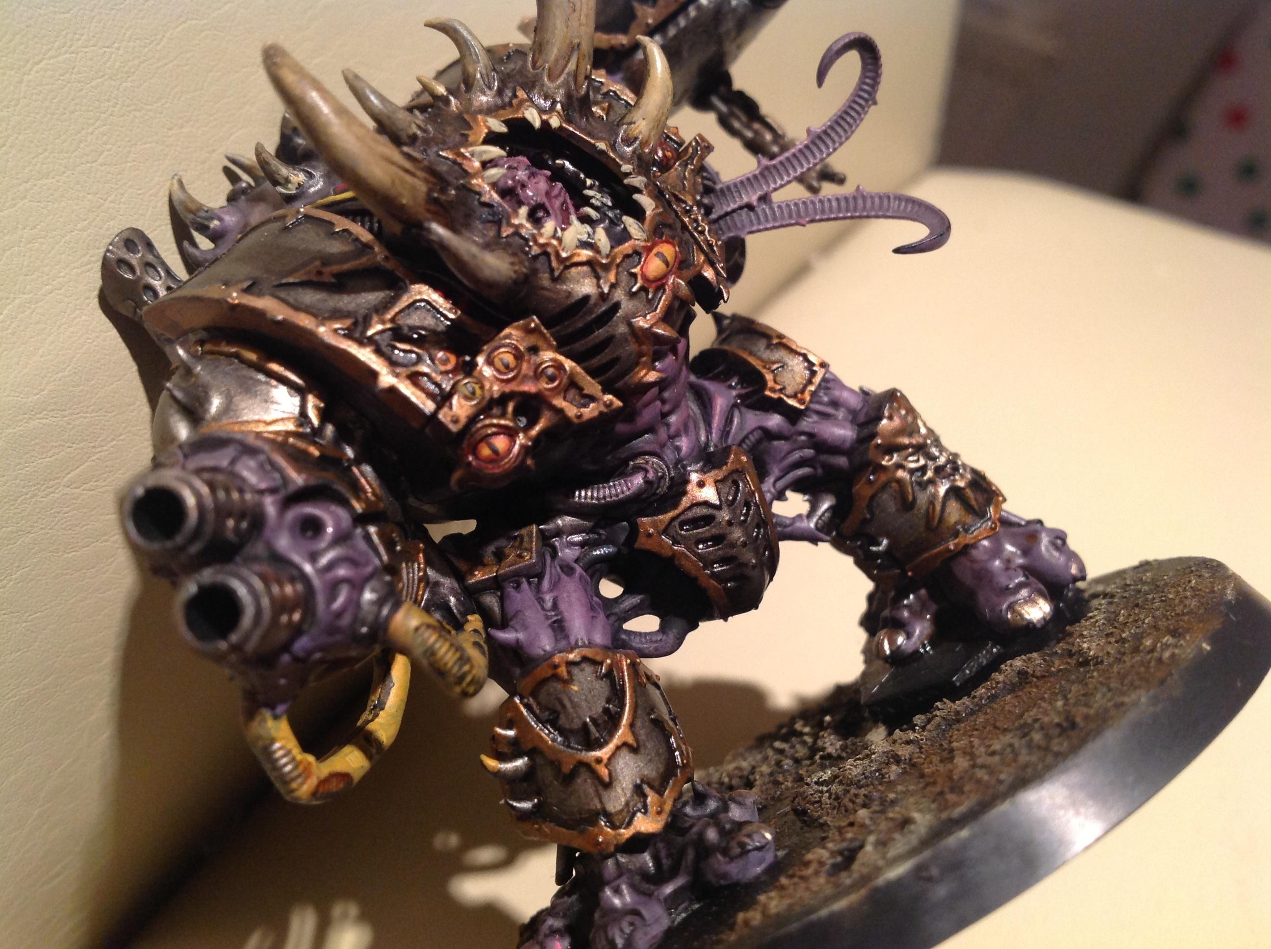 Chaos, Dreadnought, Hellbrute, Purple