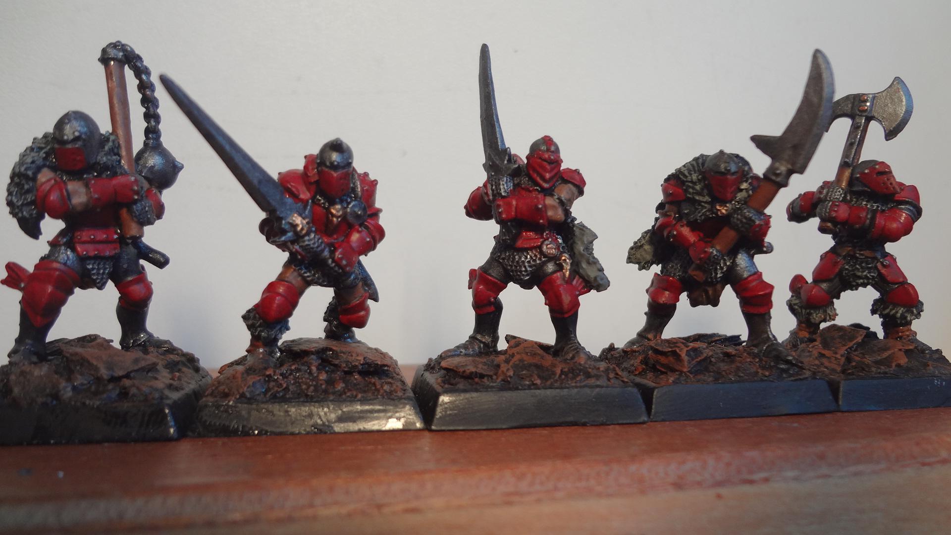 Dipped, Fantasy Warriors, Grenadier, Vintage, Warhammer Fantasy