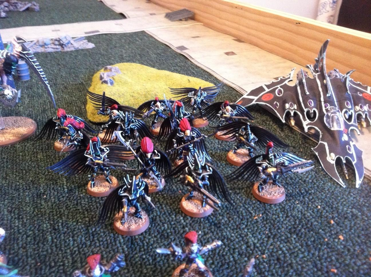 Dark Eldar, warriors/scourges/hellions conversions