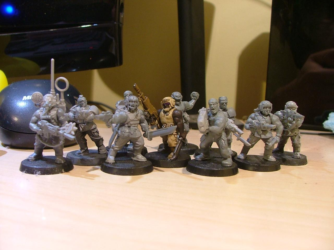 first built infantry squad