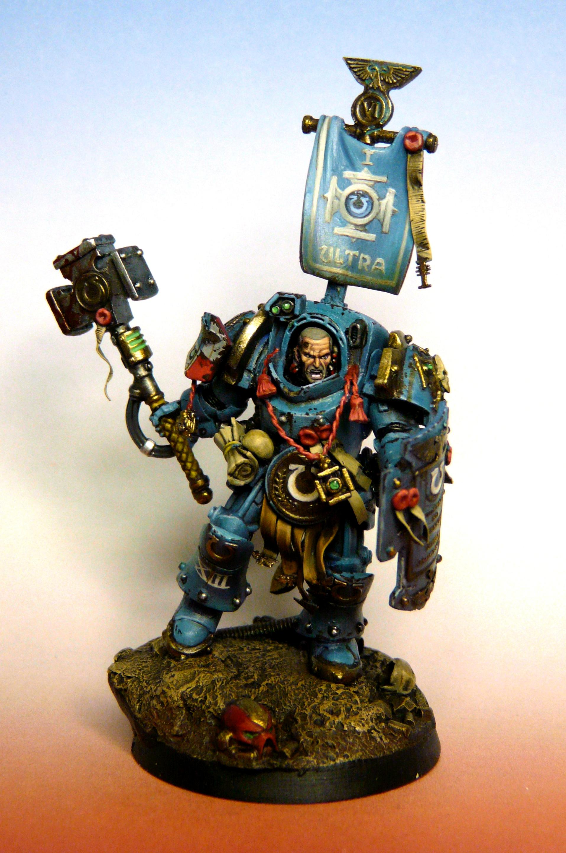 Angry, Hammer, Space Marines, Terminator Armor, True-scale
