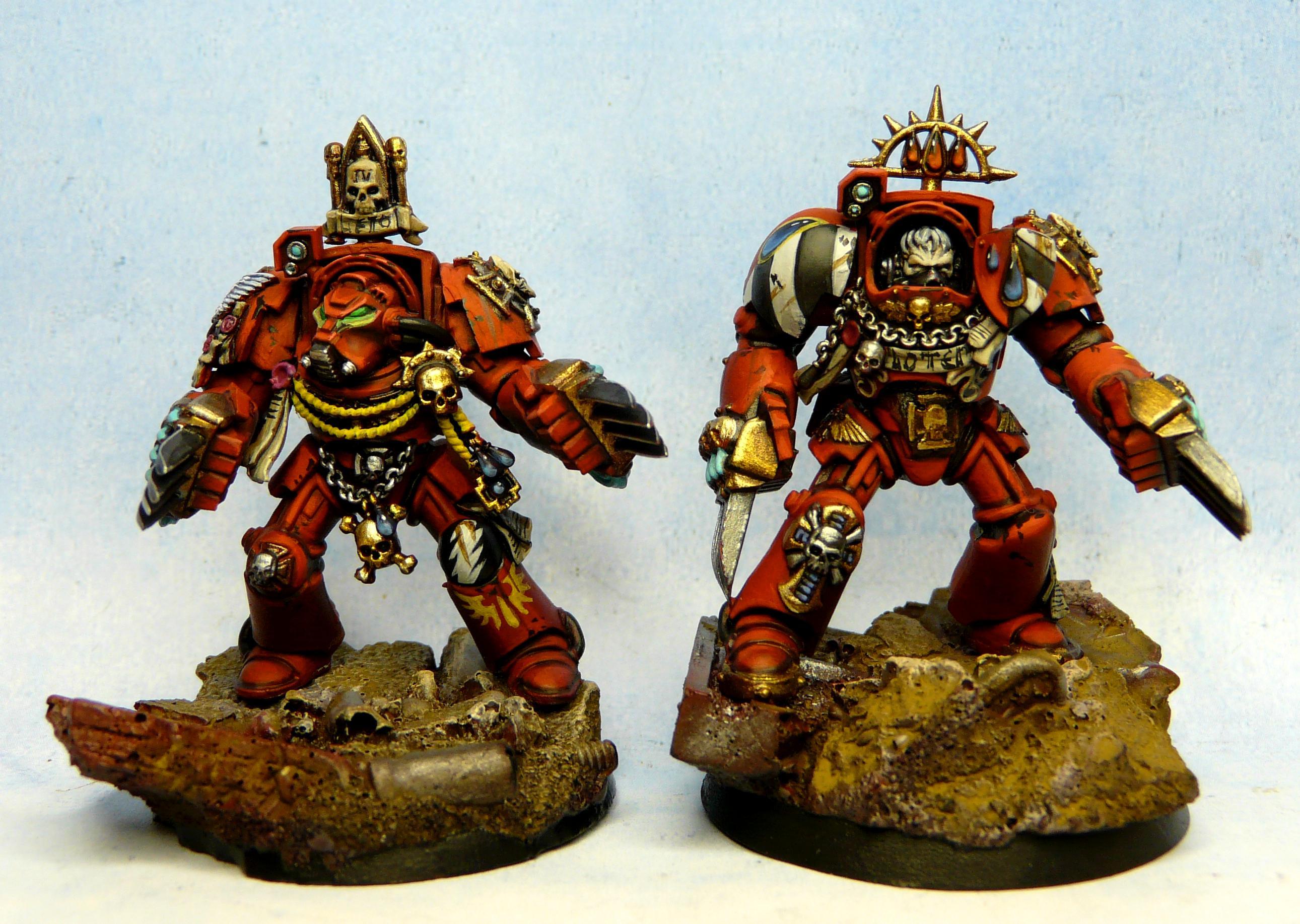 Blood Angels, Space Marines, Terminator Armor, Warhammer 40,000