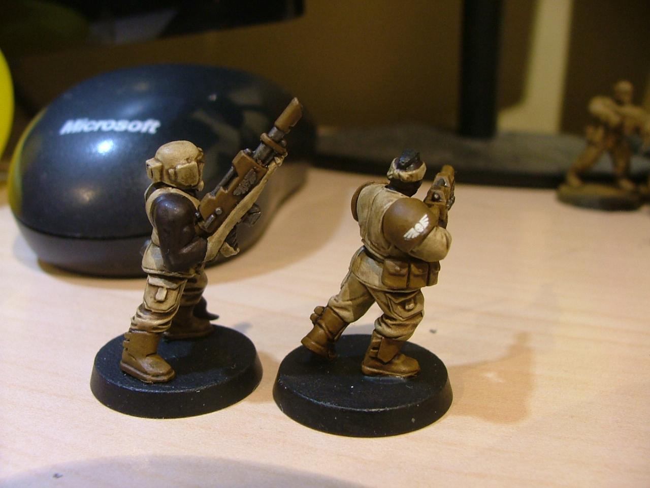 Desert Scheme, Imperial Guard, Warhammer 40,000