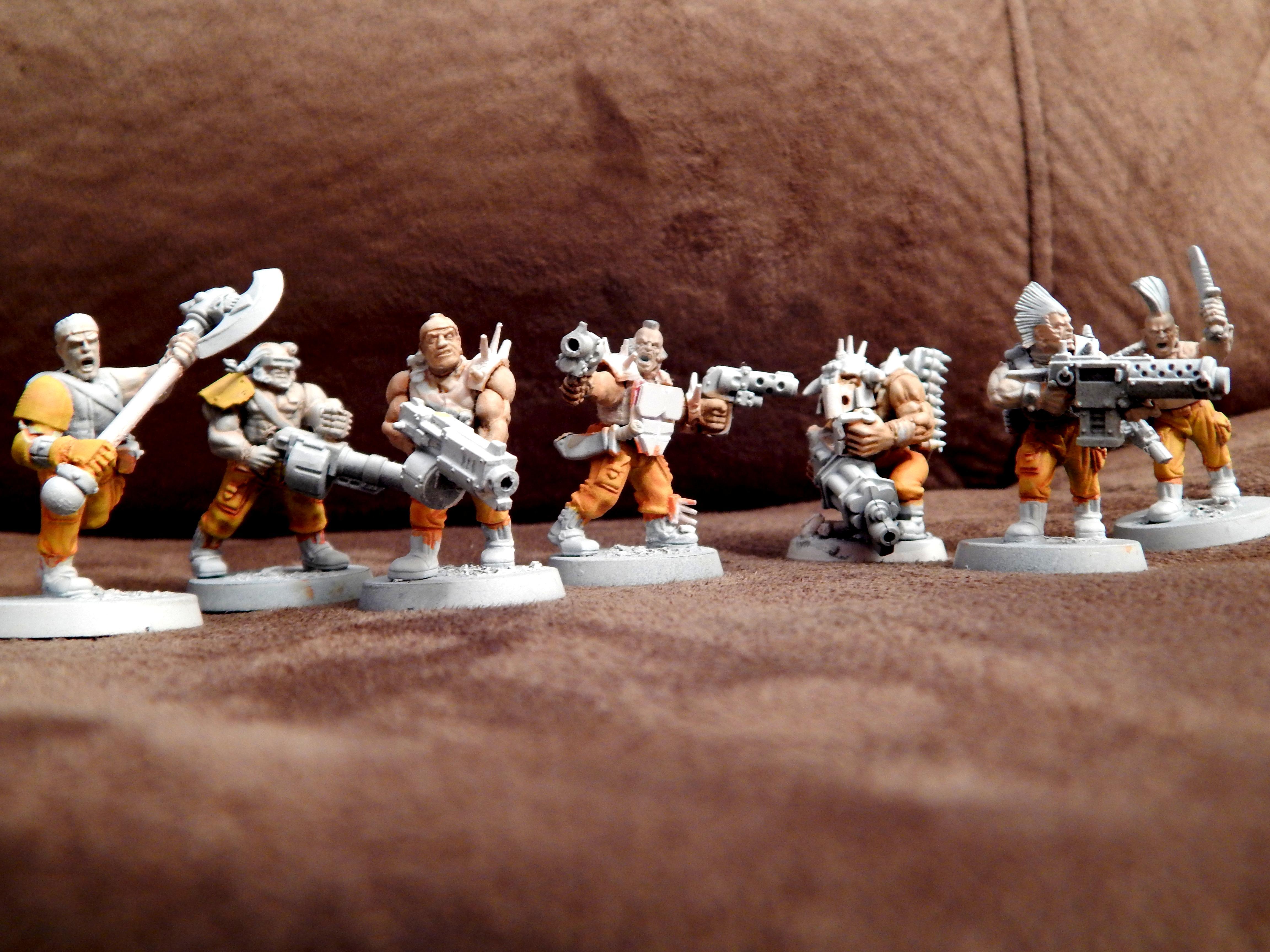 Gang, Goliath, Necromunda