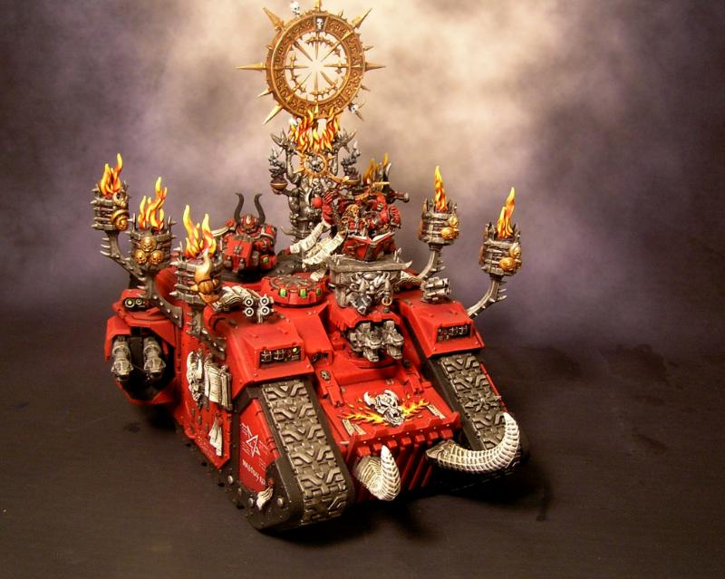 Chaos Space Marines, Land Raider, Word Bearers