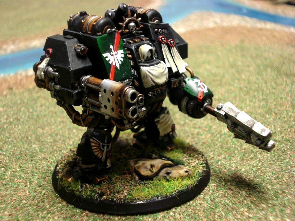 Chaplain Dreadnought Right Side