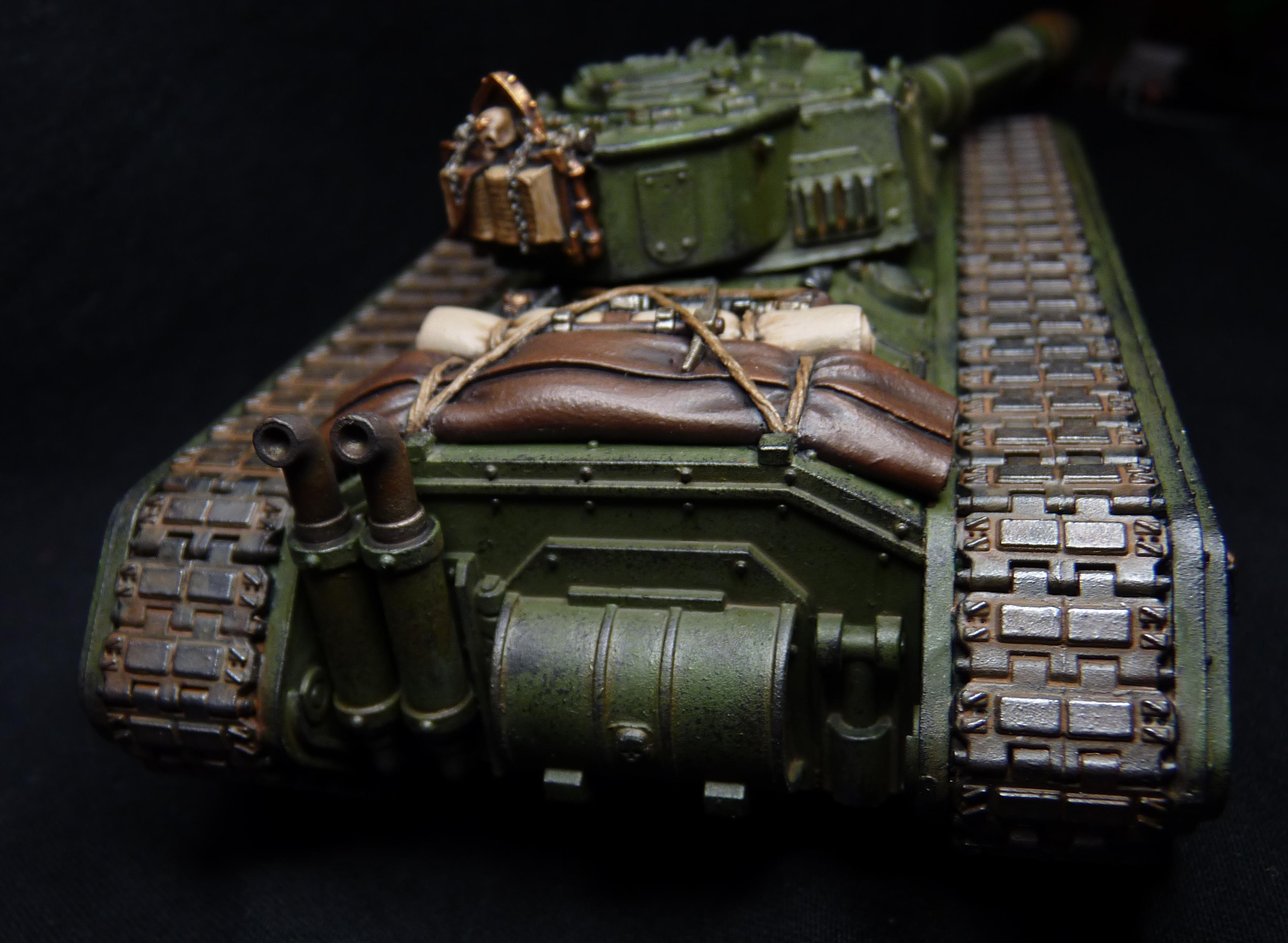 Chimera, Conversion, Imperial Guard, Leman Russ, Weathered