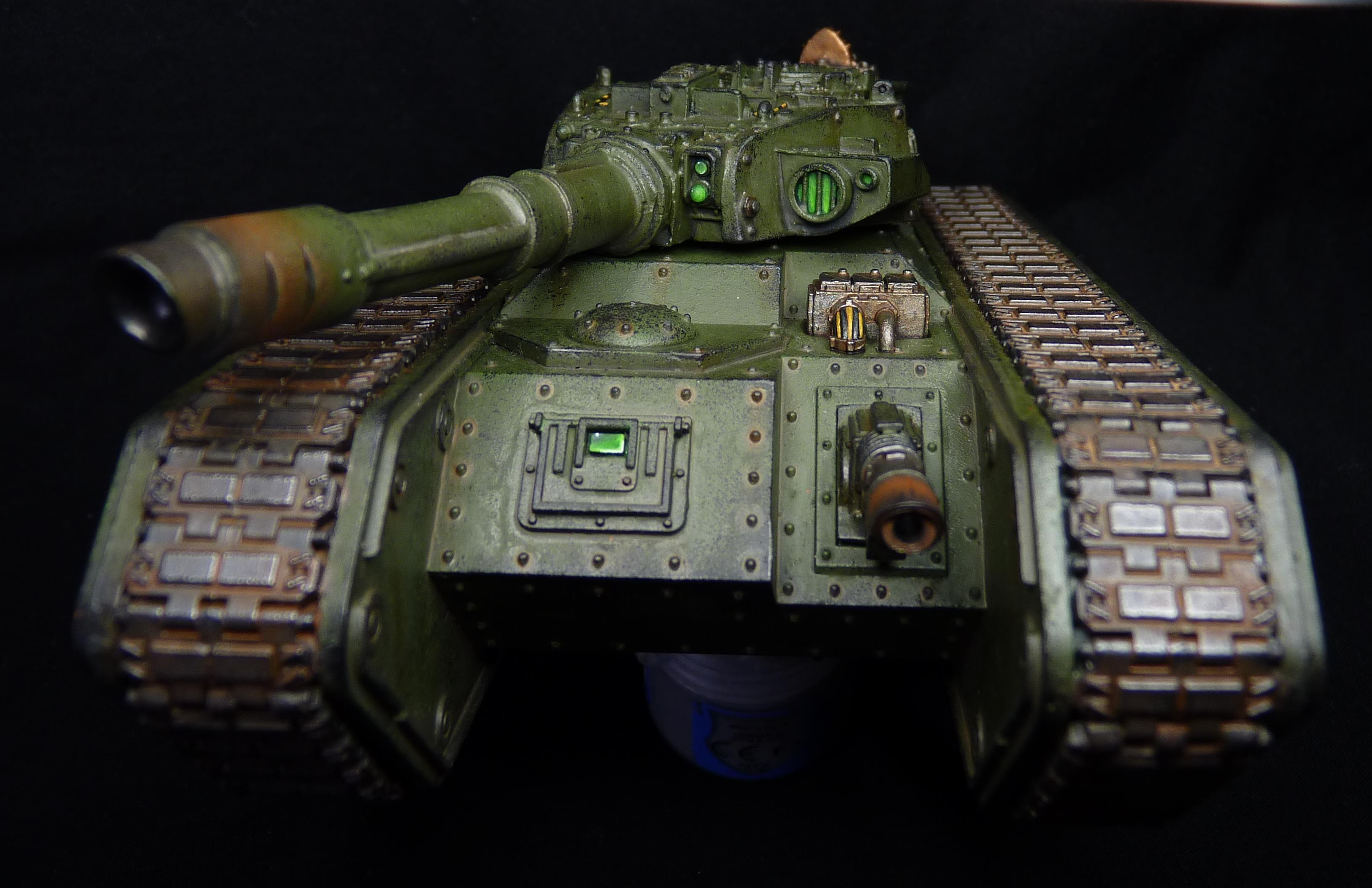 Chimera, Heavy, Imperial Guard, Super, Super-heavy, Tank, Weathered