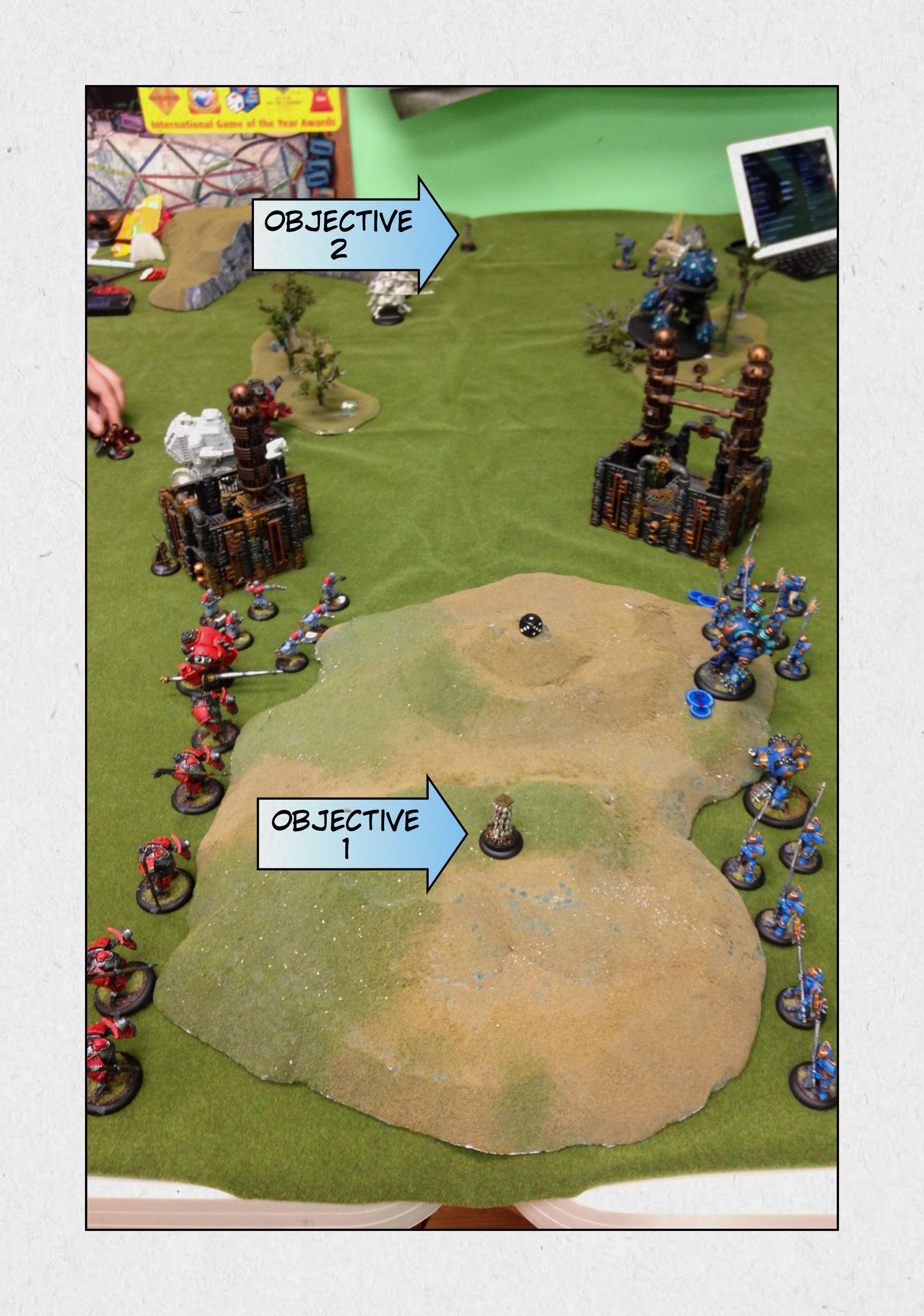 Battle Report, Cygnar, Khador, Warmachine