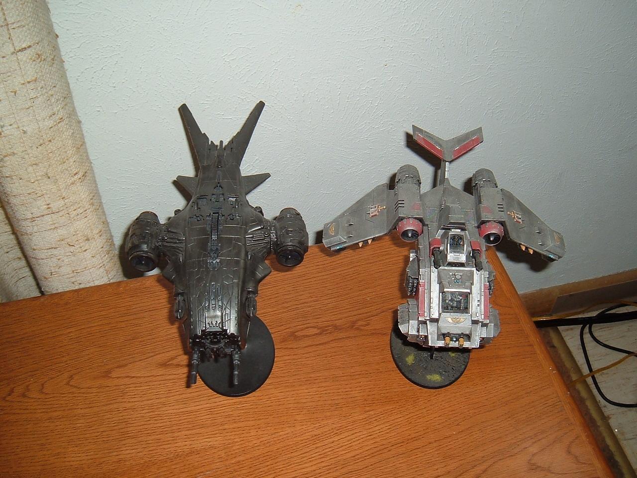 Grey Knights, Hunter Killer, Stormraven, Terminator Armor, Toy