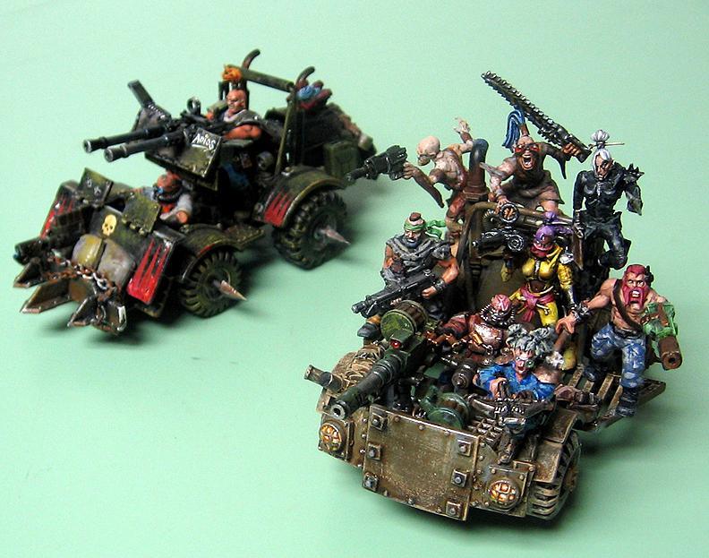Kitbash, Mad Max, Ash Waste Raiders