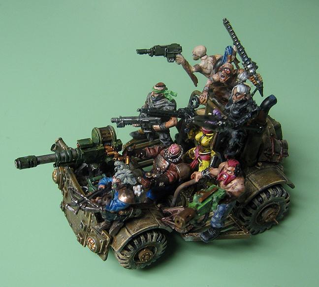 Necromunda, Mamzel Mayhem and her Bedlam Buggy