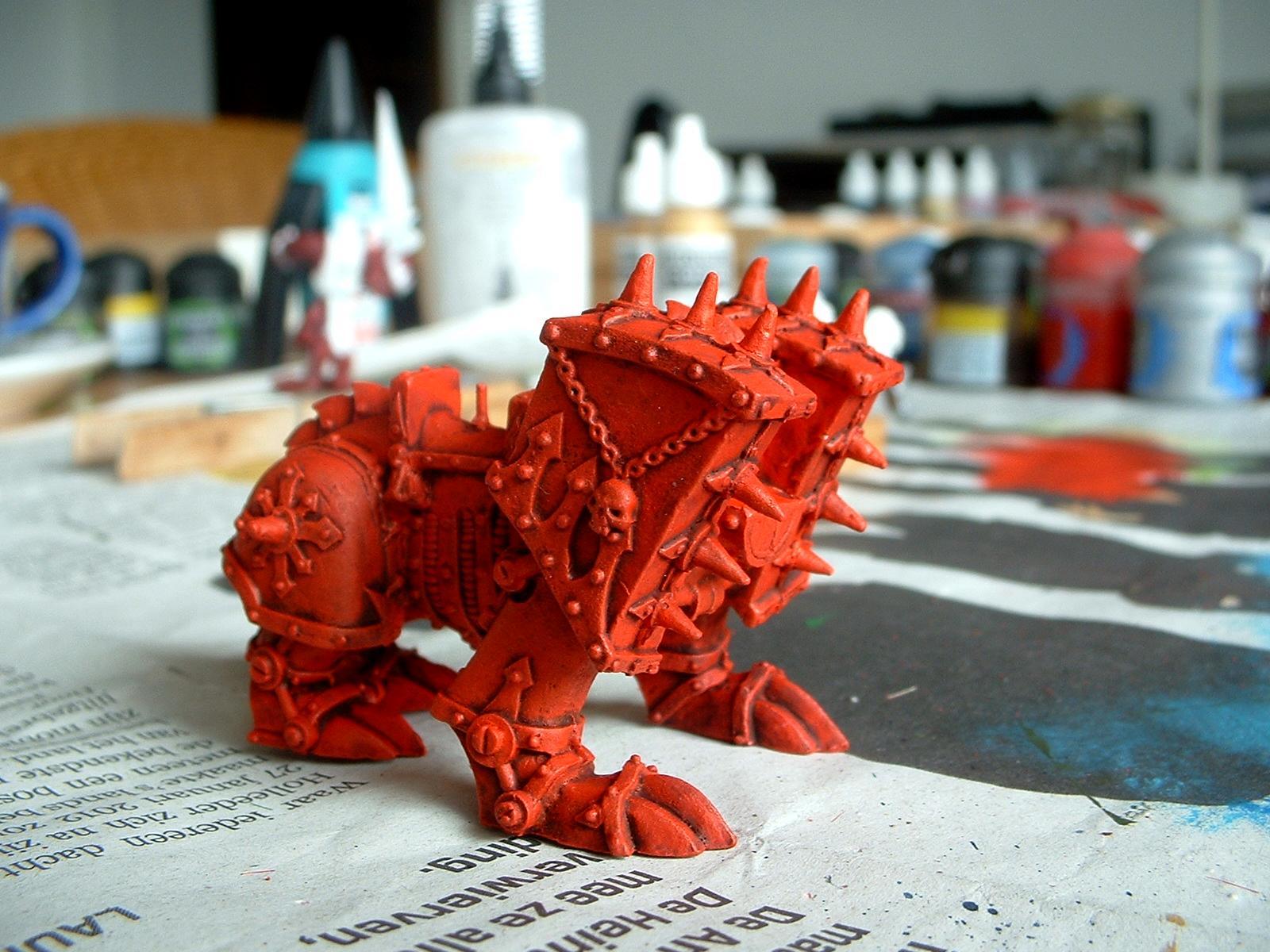 Blood Throne, Chariot, Daemons, Juggernaut, Khorne