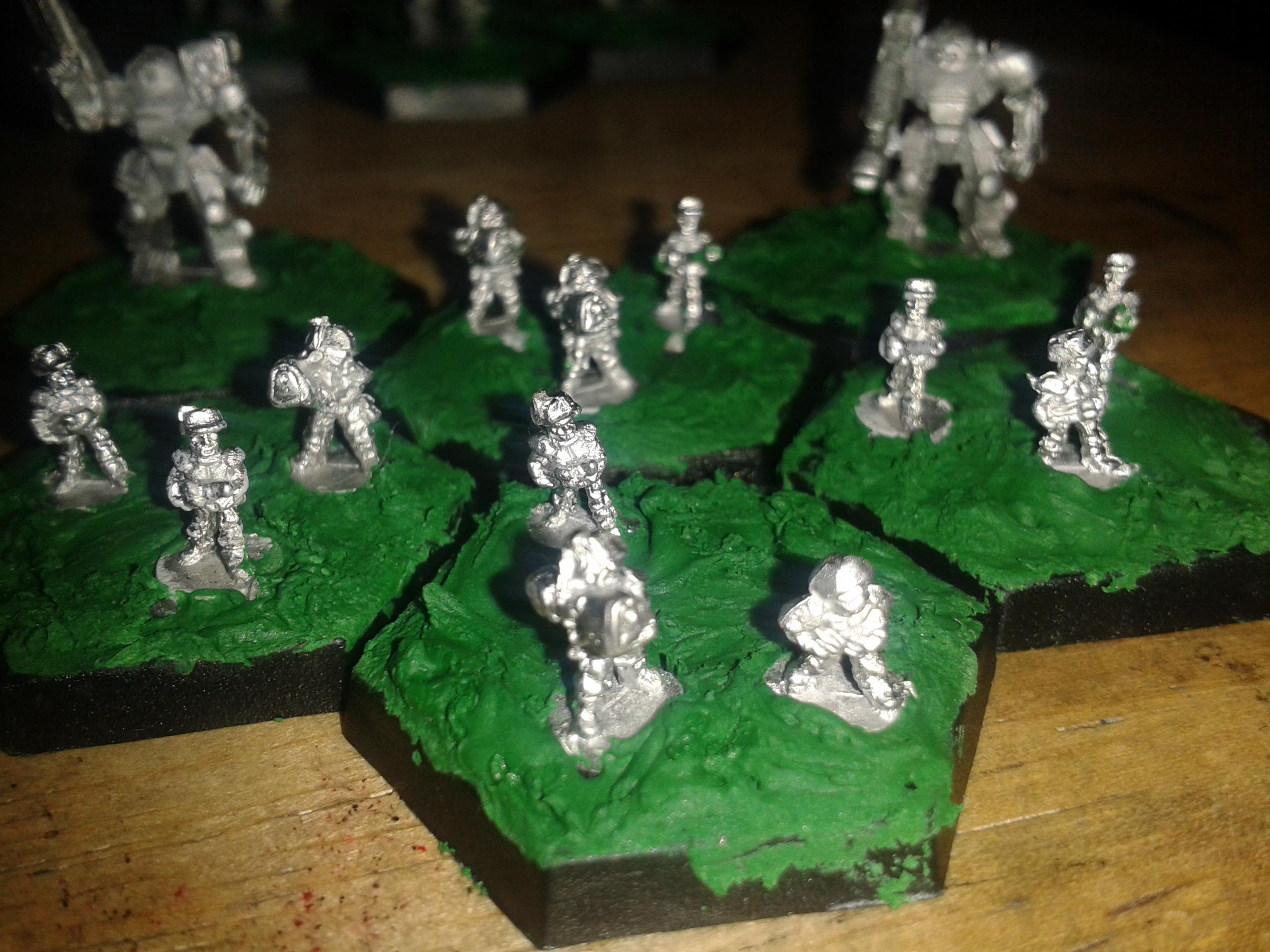 6mm, Sci Fi, 6mm Mixed infantry