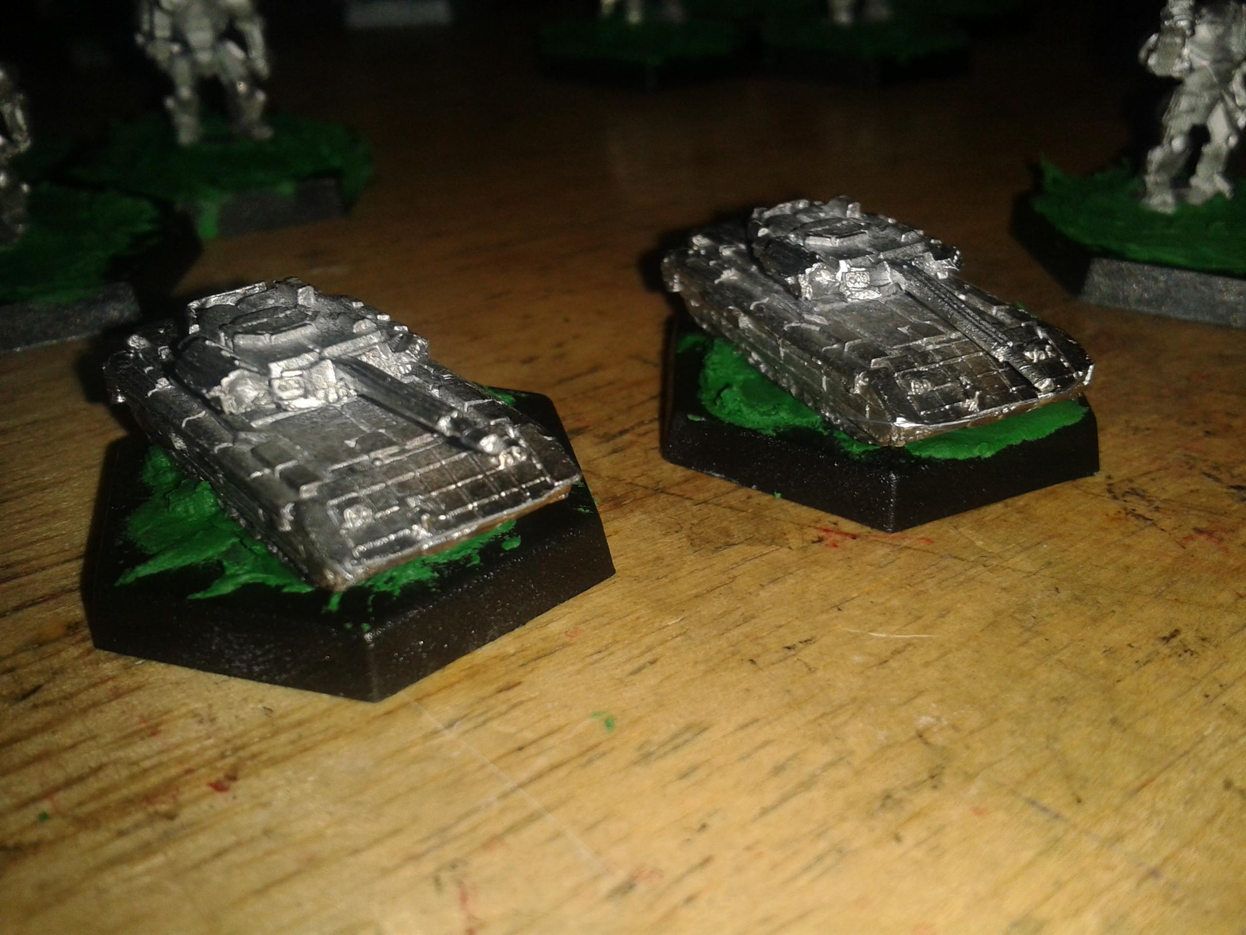 6mm, Sci Fi, 6mm Tanks