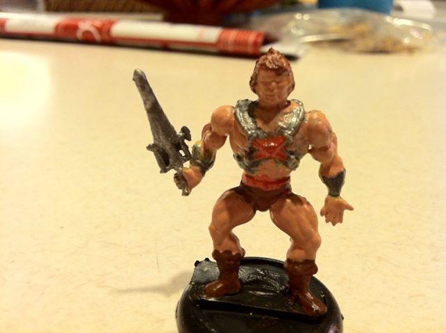He-man, He-man from gumball machine
