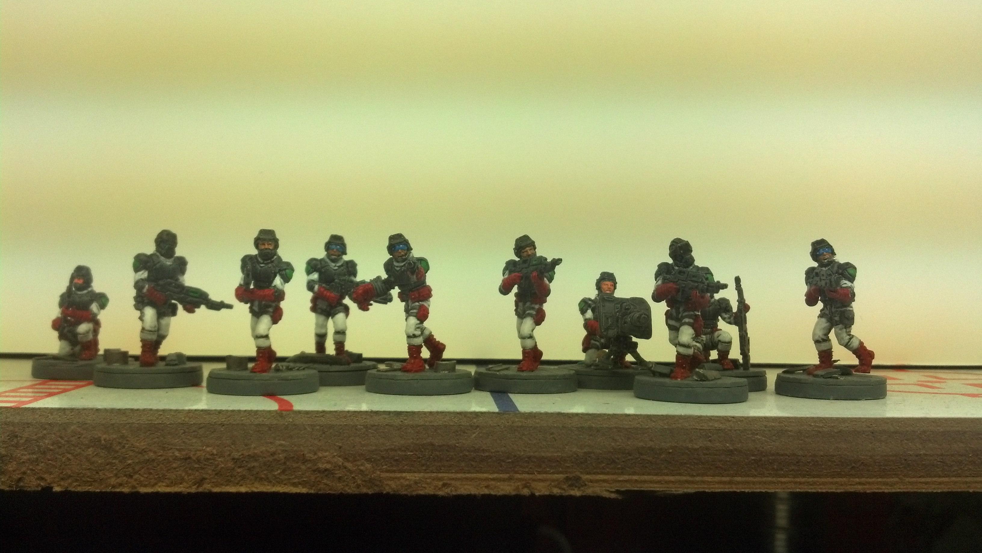 Corporation, Mantic, Space Marines