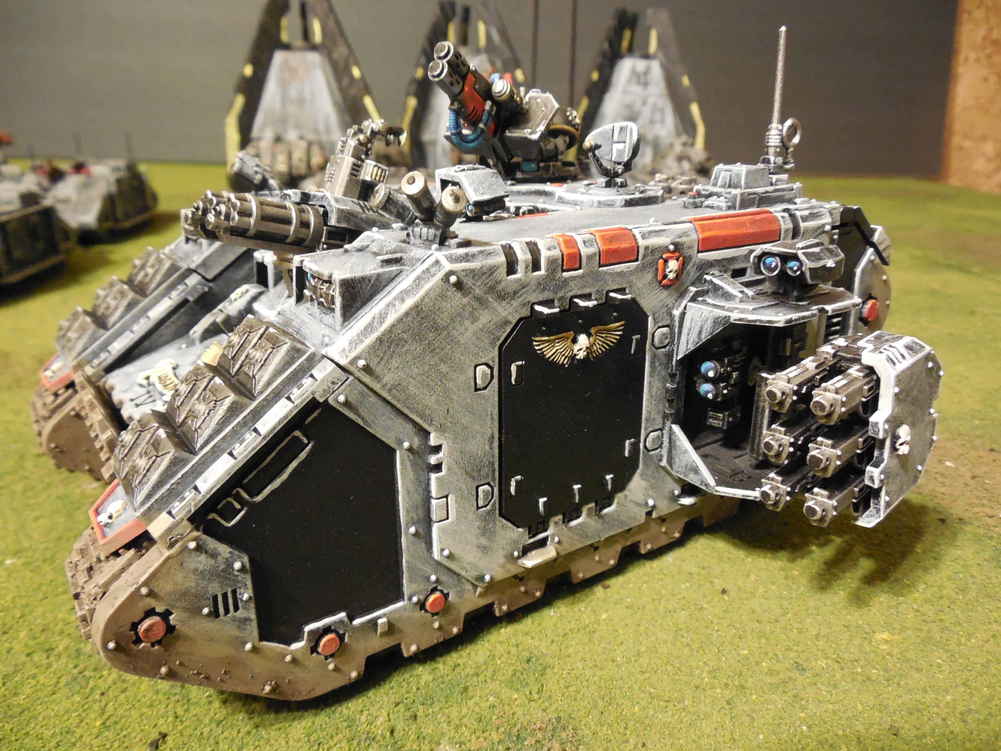 Land Raider Crusader, Space Marines, Warhammer 40,000
