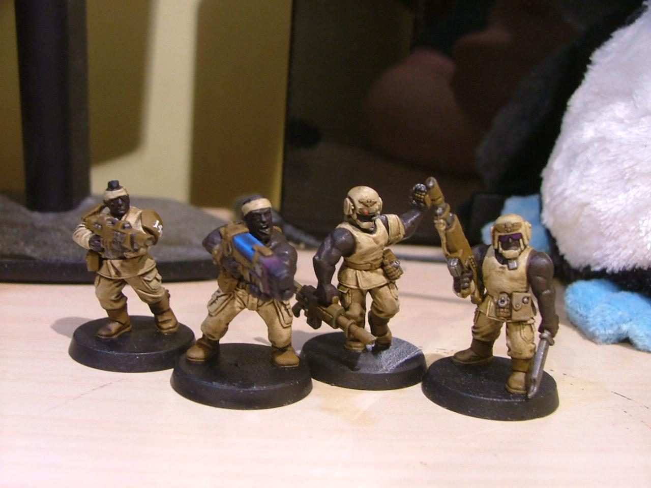 Cadians, Catachan, Imperial Guard
